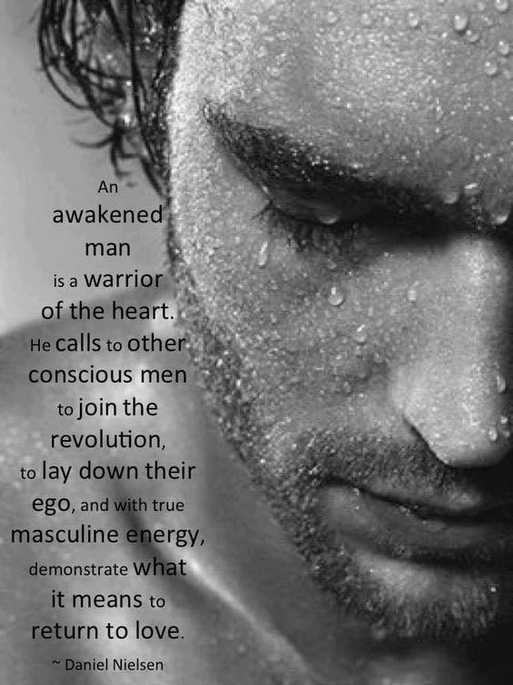 awakened man